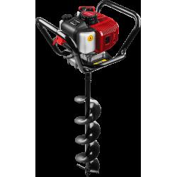 Мотобур ЗУБР МБ1-200 Н (бензобур) со шнеком, d=60-200 мм, 52 см3, 1 оператор